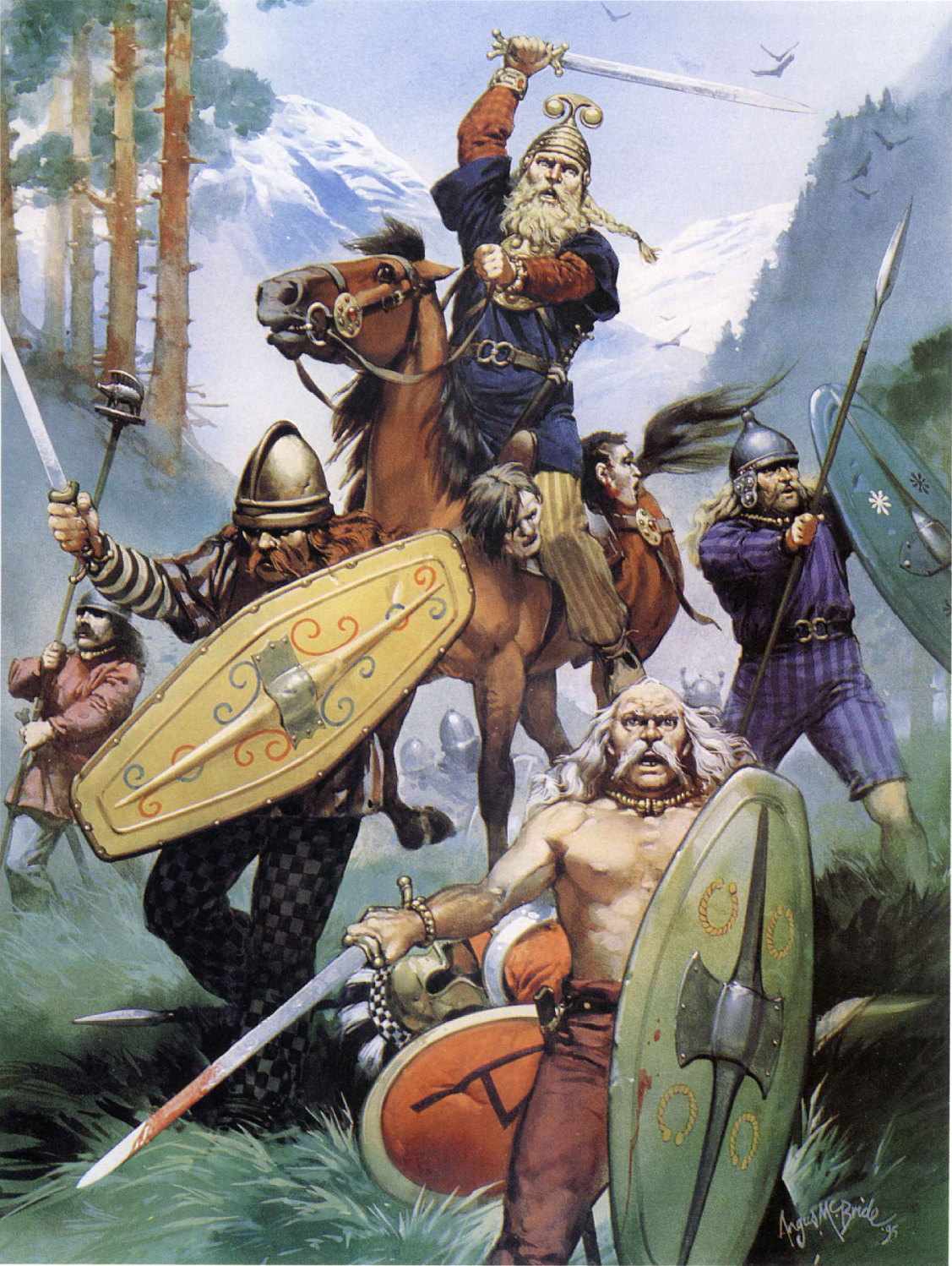 Celtic Warriors clipart real Warriors BC warriors century Greece