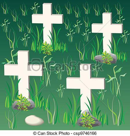 Cemetery clipart Vector Search Clipart of cemetery