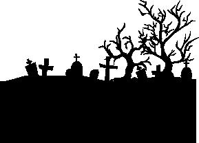 Cenetery clipart Clipart & Clipart Halloween cemetery