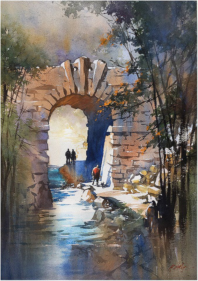 Central Park clipart 1747 A to Arte thanks