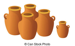 Jar clipart clay pottery On and Pottery royalty Art