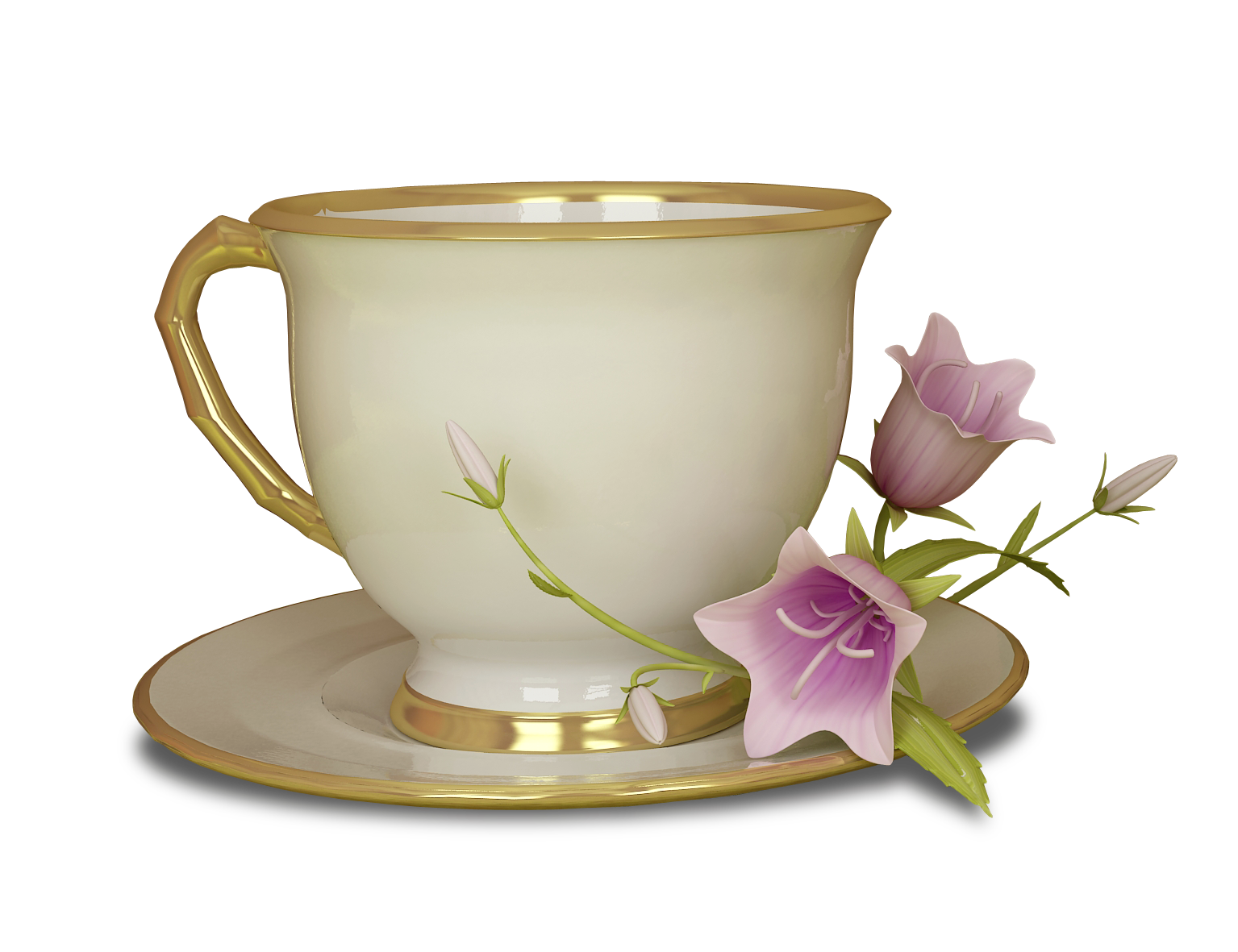 Teapot clipart fifteen Flower Transparent Pink View size
