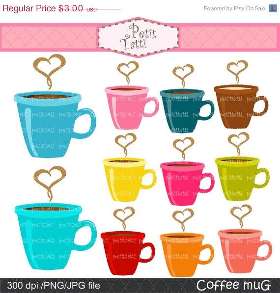 Mug clipart full cup Download mug Etsy mug Cappuccino