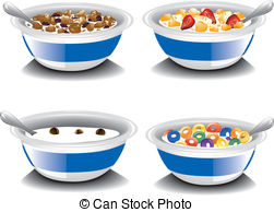 Cereal clipart porridge And EPS Cereal of
