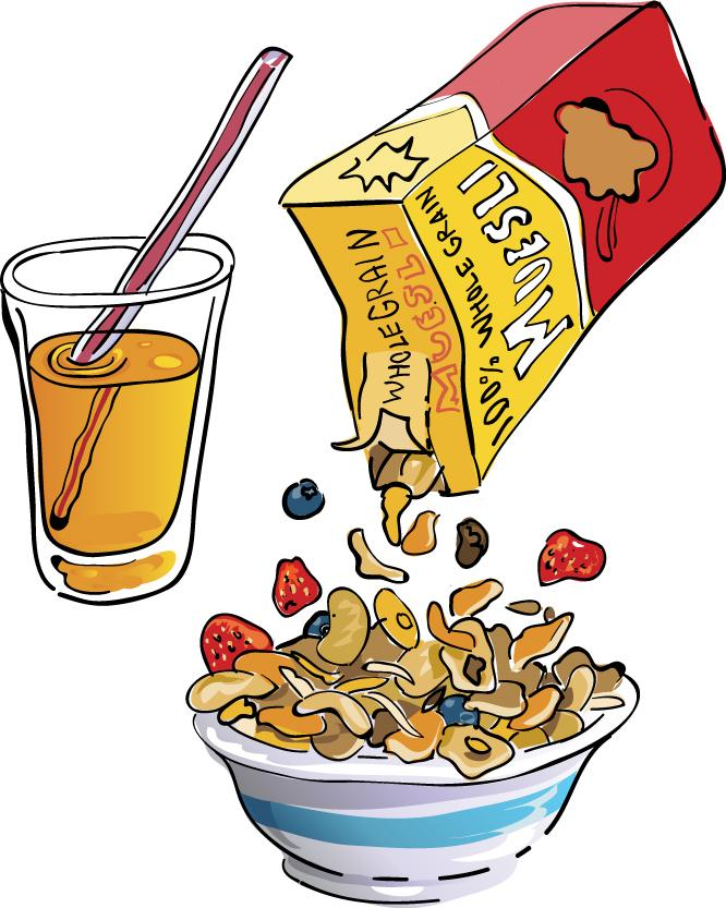 Breakfast clipart kid breakfast Inspiration Cliparts Cliparts Cereal and