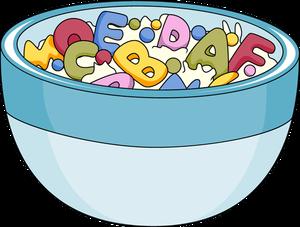 Cereal clipart alphabet And Clip Breakfast Art Art