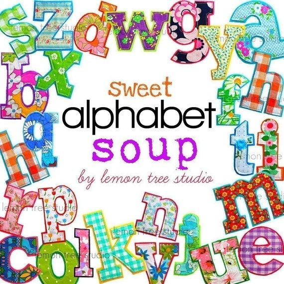 Cereal clipart alphabet soup Soup Alphabet Sweet Alphabet Art