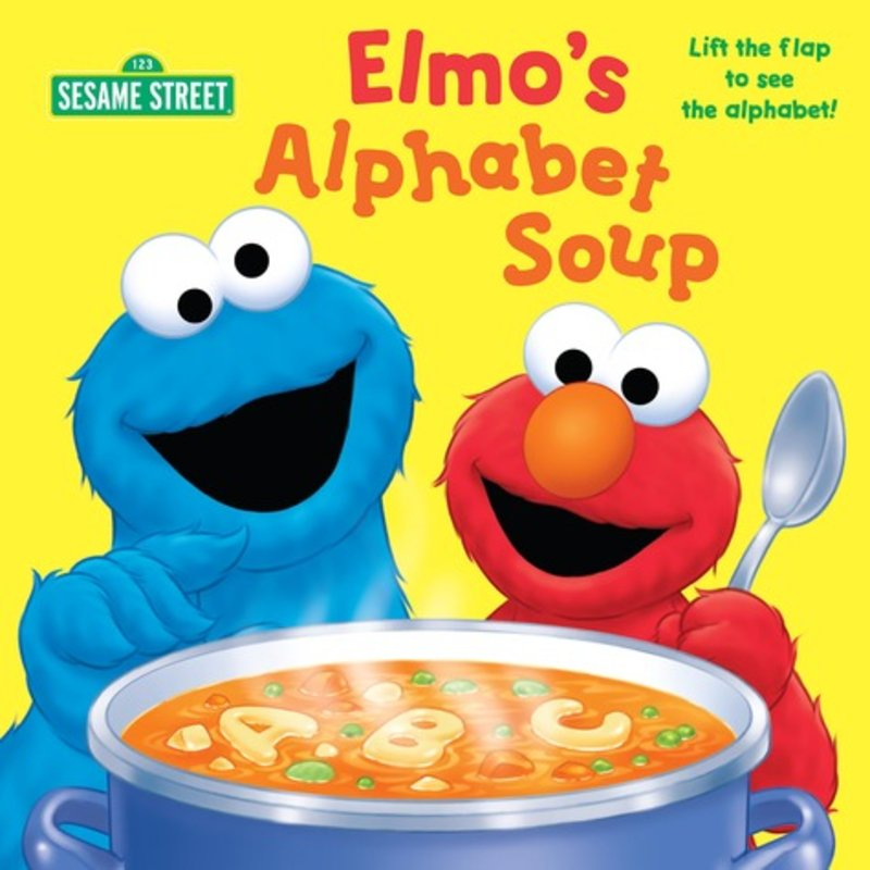 Cereal clipart alphabet soup Soup Alphabet Elmo's by Soup