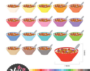 Cereal clipart baking bowl Instant Bowl Cereal Cereal /
