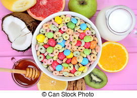 Cereal clipart bowl candy Cereal Stock on Photos A