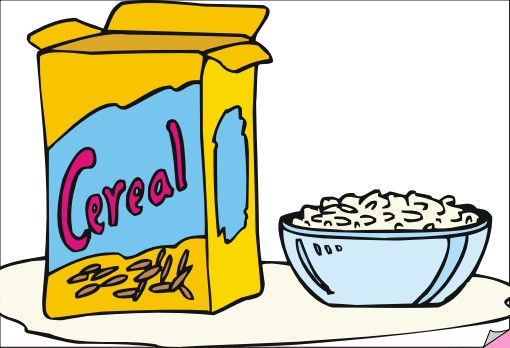 Cereal clipart breakfast time POLLY cereal