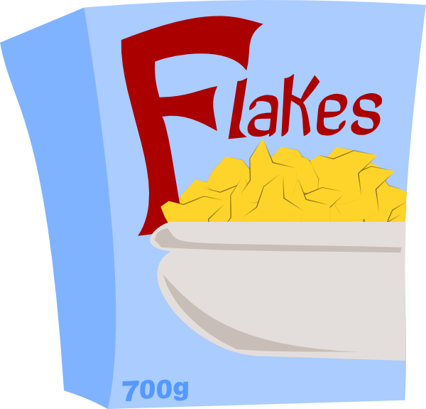 Cereal clipart breakfast time This art image Flakes Cereal