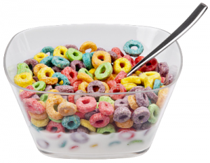 Cereal clipart breakfast time Loops Small Art Clip Cereal