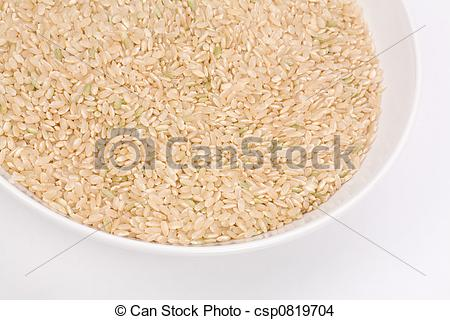 Cereal clipart brown rice Photo Rice of csp0819704 up
