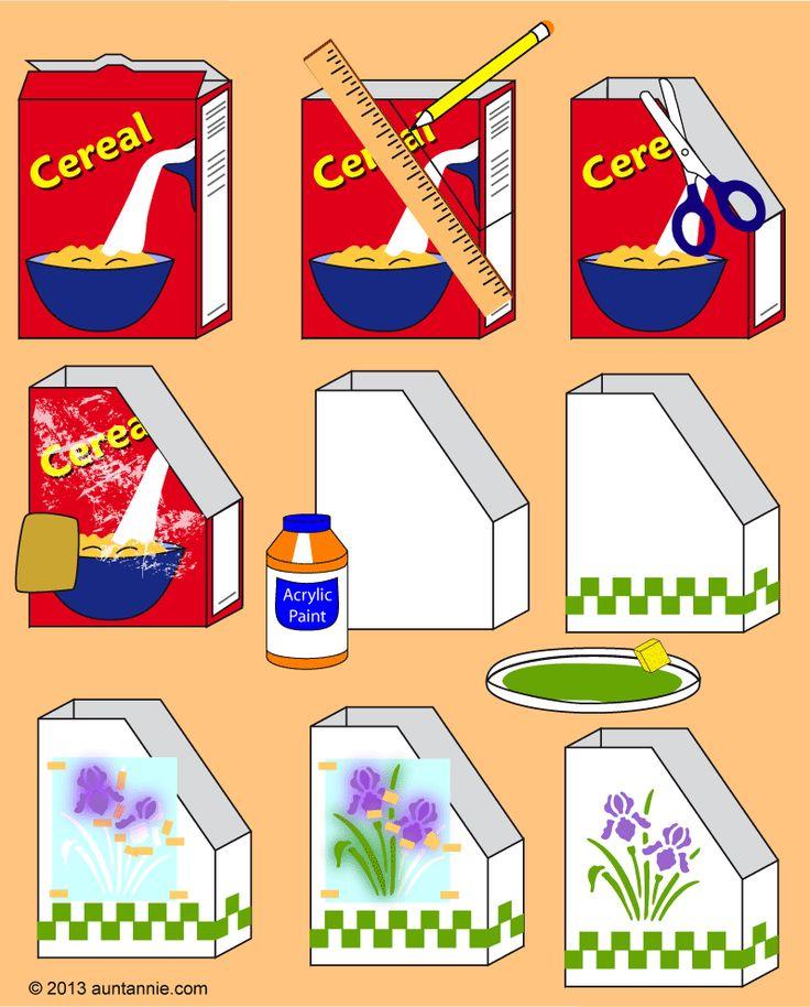Cereal clipart caja de La Cortar sobre en de