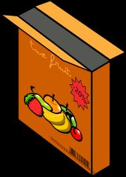 Cereal clipart caja de Of Bowl 1 Art Clip