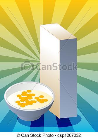 Cereal clipart caja de Caja Ilustraciones con  en