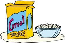 Bowl clipart cereal box Hasslefreeclipart Collection com Cereal