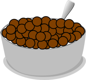Cereal clipart chocolate  Clip Clker Art com