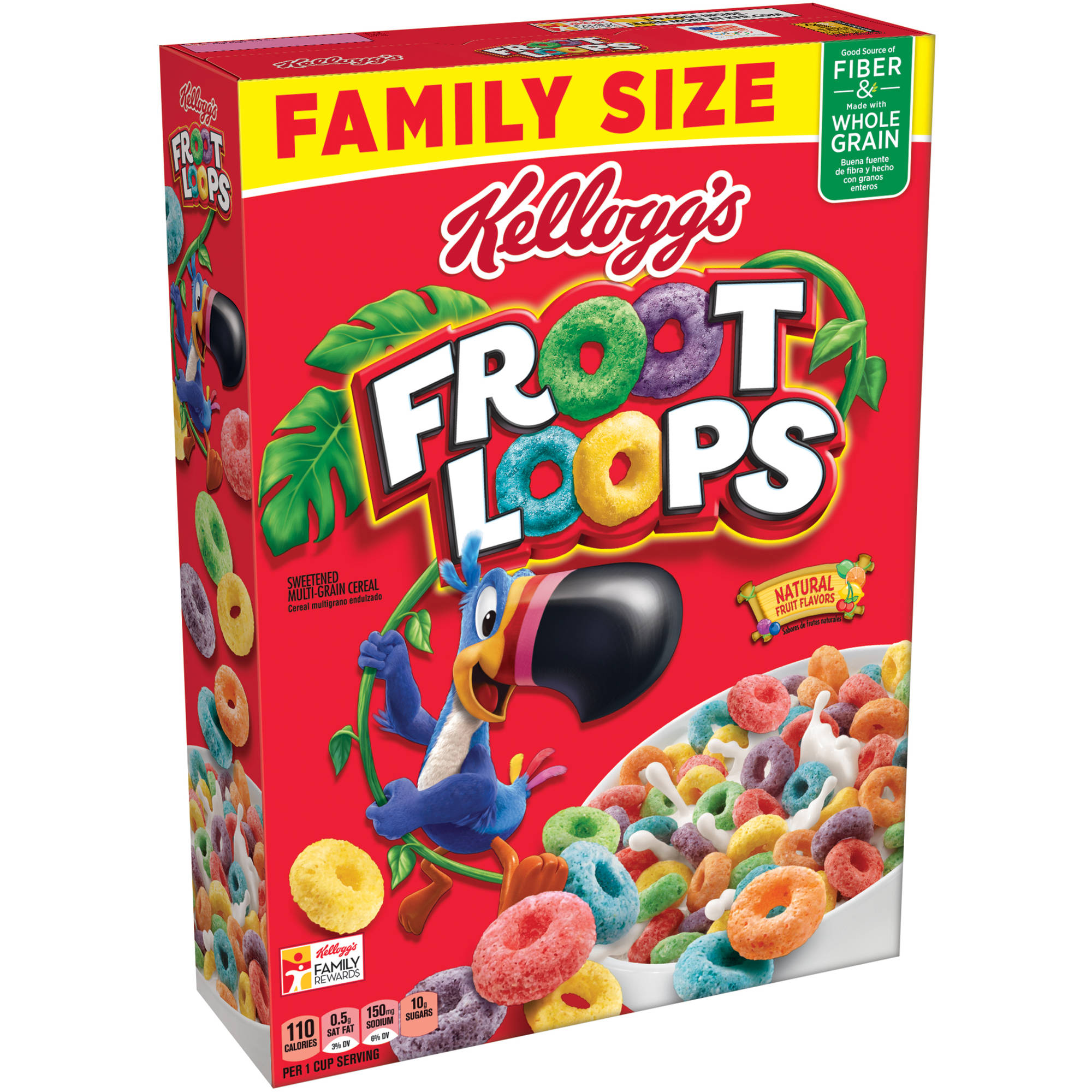 Cereal clipart fruit loops Grain 7 Size  oz
