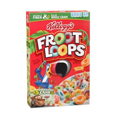 Cereal clipart fruit loops As 3 Loops  FREE