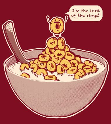Cereal clipart funny Harantula Rings #movie #lordsofring by