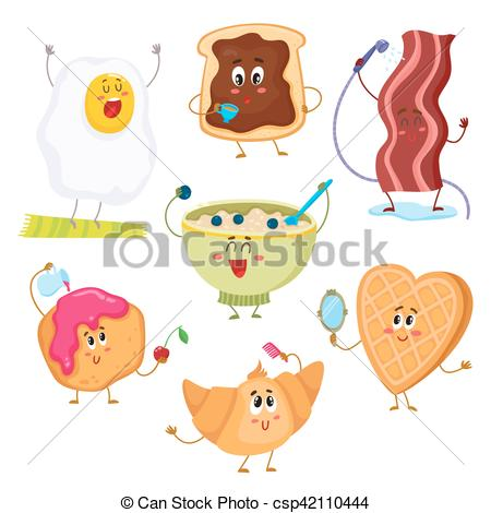 Cereal clipart funny And cartoon and illustration cute