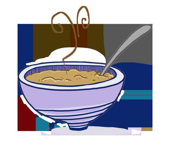 Cereal clipart porridge The snacks Kitchen delicious you
