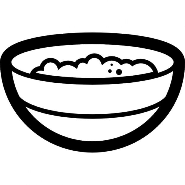 Bowl clipart porridge bowl Porridge Free and Porridge PSD