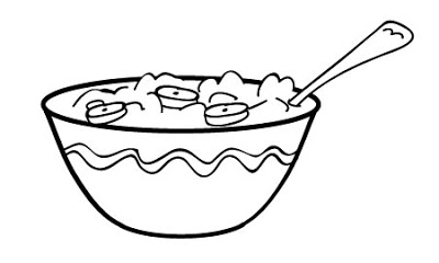 Porridge clipart bowl food Of Pages cereal Crafthubs Color