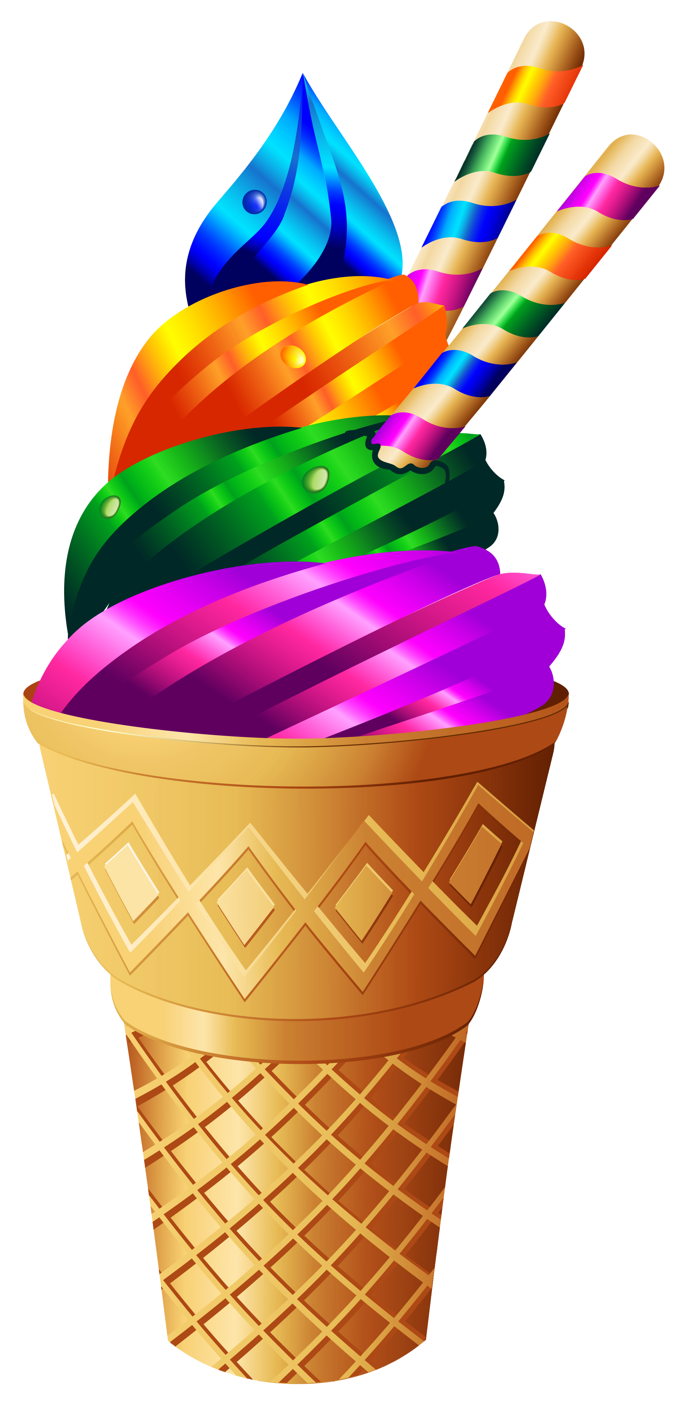 Waffle Cone clipart ice candy COMIDA PNG Transparent FRUTAS Cream
