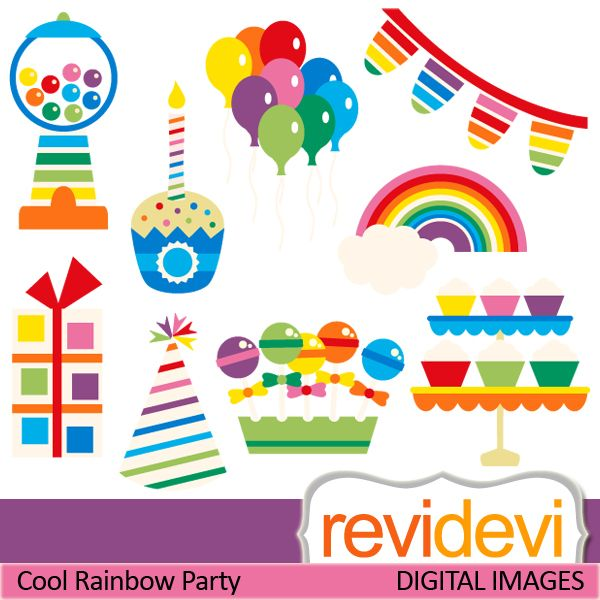 Cereal clipart rainbow Banners Pinterest party about cupcake