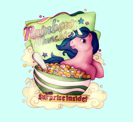 Cereal clipart rainbow By Munchies! Redbubble Unicorn SugarHit
