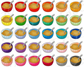 Cereal clipart rainbow Cereal OFF clipart Breakfast Breakfast