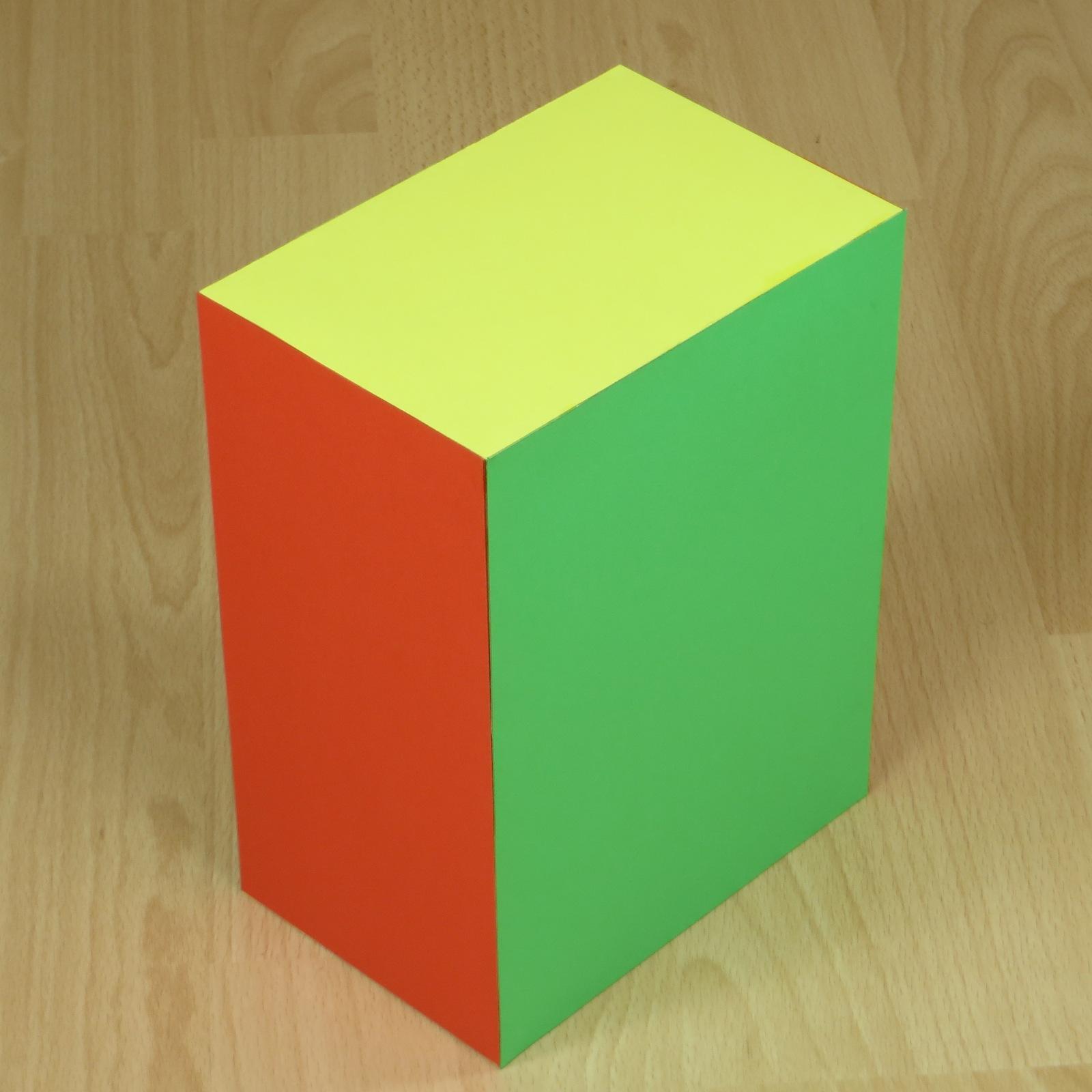 Cereal clipart rectangular prism Prism (cuboid) Paper  prism