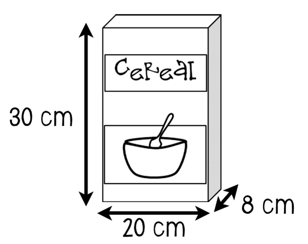Cereal clipart rectangular prism Voluuuuume! rectangular grab shaped the