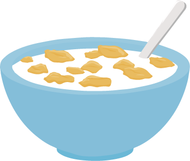Cereal clipart transparent Heath Primary cereal Thatto School
