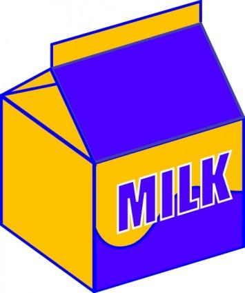 Cereal clipart yellow Cereal Milk art Clipart Carton