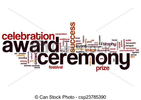 Celebration clipart award ceremony Vector and  ceremony cloud