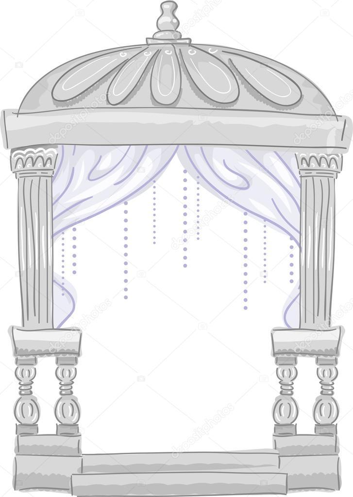 Ceremony clipart chuppah #58949377 Wedding Cute – Wedding