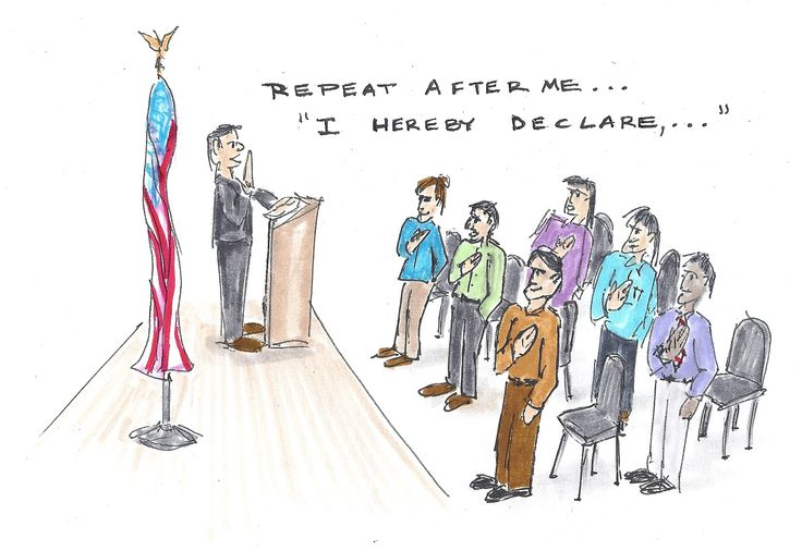 Ceremony clipart naturalization Becomes process Naturalization I Naturalization