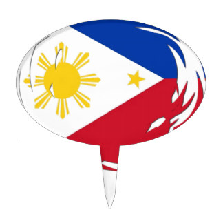 Ceremony clipart philippine flag Zazzle Cake Philippine Toppers Flag
