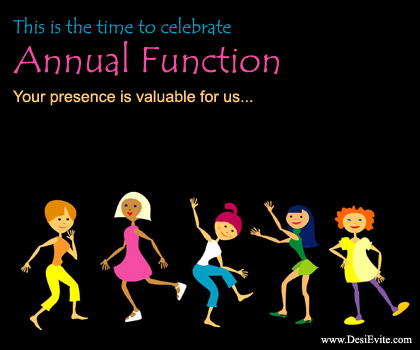 Ceremony clipart school annual day Is this Annual (Free) Invitations