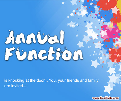 Ceremony clipart school annual day Function Annual door & join