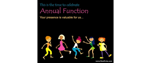 Ceremony clipart school annual day With Invitation time Online celebrate