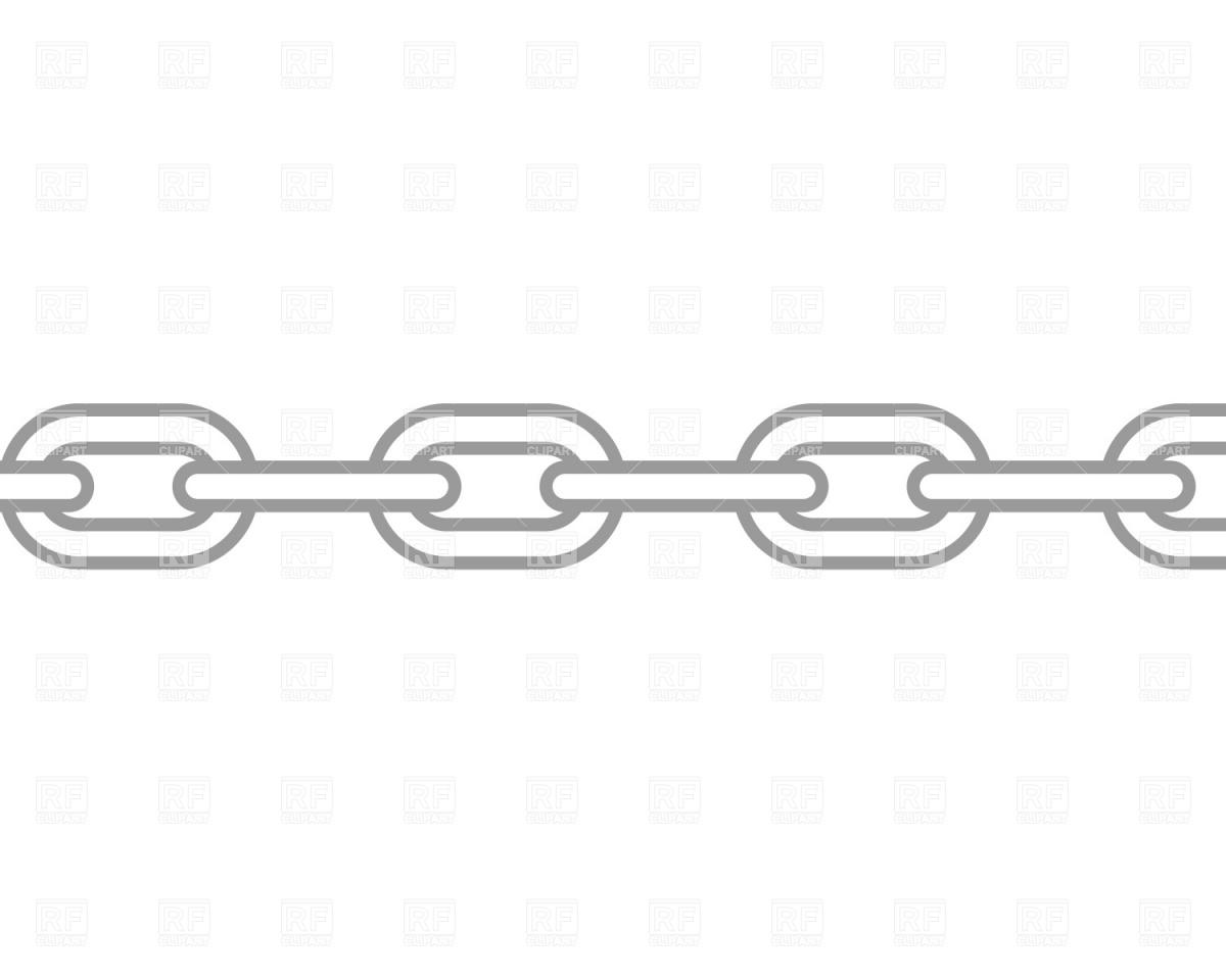 Chain clipart vector Clip Pinterest Border Art Daisy