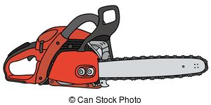 Chainsaw clipart carpenter tool  Lumberjack cuts chainsaw by