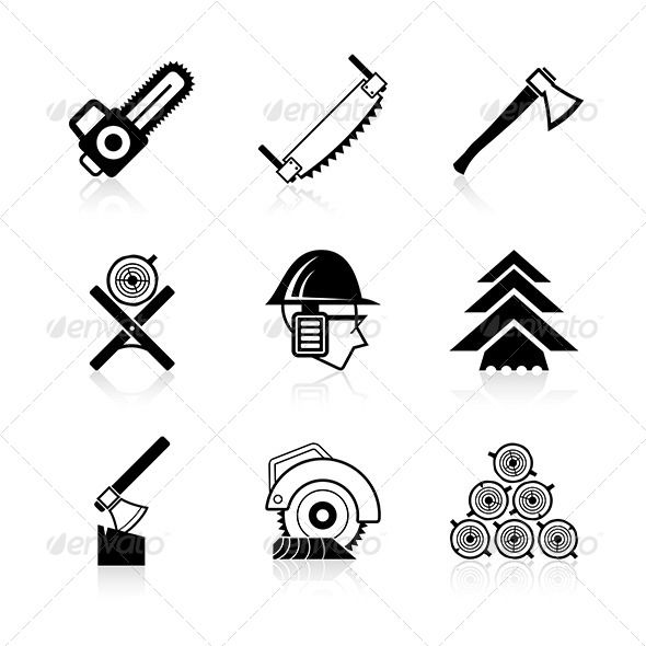 Chainsaw clipart carpentry tool Woodworking Icon on images Pinterest