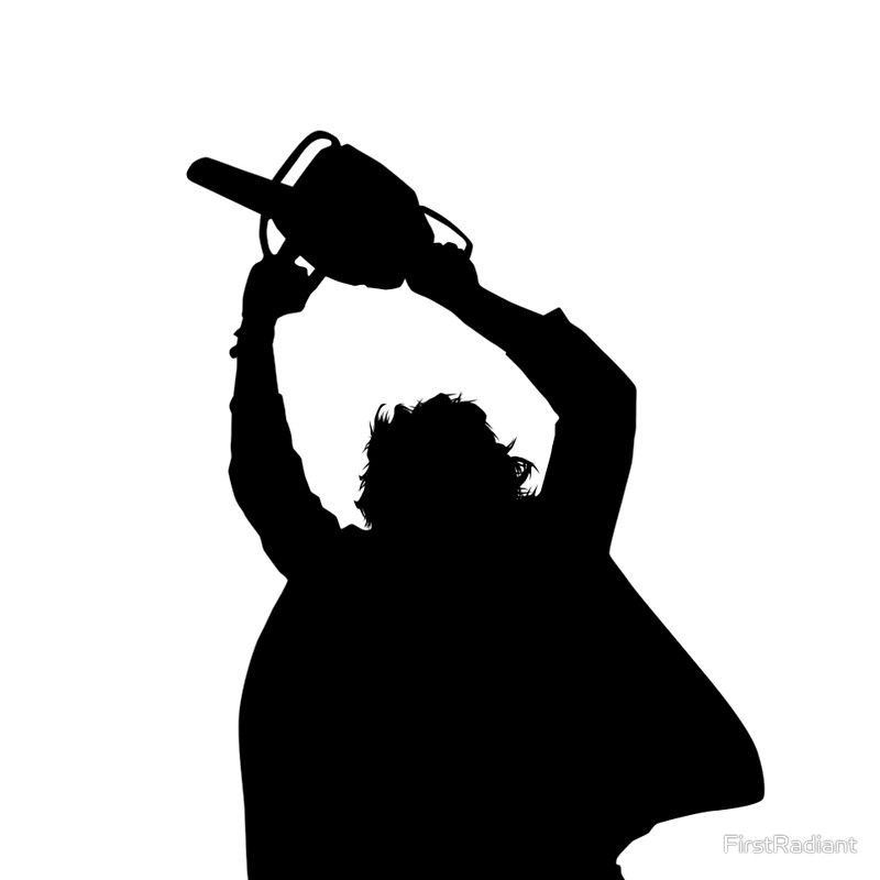 Chainsaw clipart silhouette Silhouette Shirts FirstRadiant massacre Chainsaw
