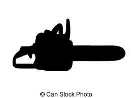 Chainsaw clipart silhouette Saw chainsaw 1 Stock chain